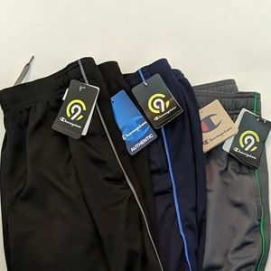 NWT LOT OF 3 CHAMPION DUO DRY SHORTS
